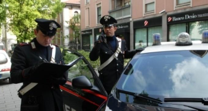 Cusano: due cacciaviti e una chiave inglese in tasca. Fermata e denunciata dai carabinieri