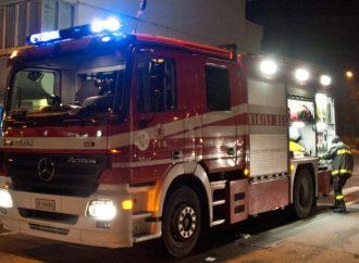 Camion a fuoco a Paderno: ecco il video
