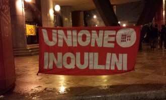 Unione Inquilini: famiglie in piazza contro l'emergenza casa