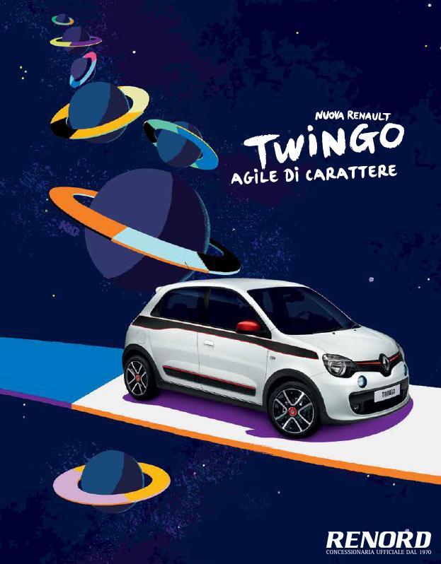 Informazione pubbliredazionale la nuova renault twingo for Renault renord