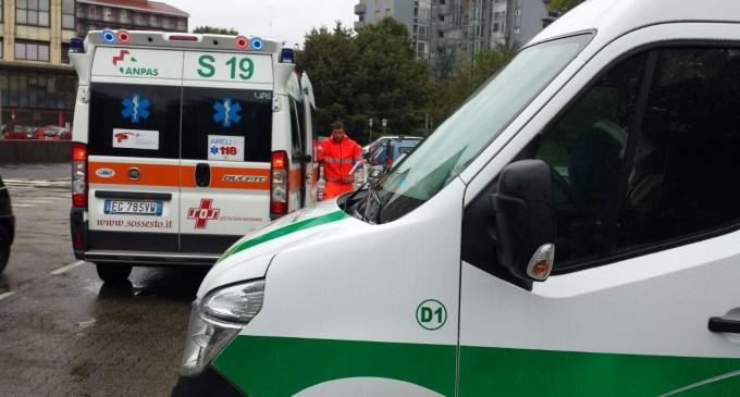 Incidente stradale a Cinisello. Investito un ciclista