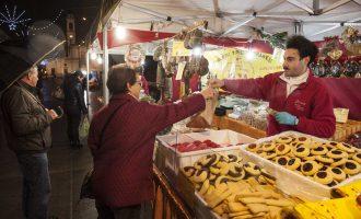 Cinisello, mercatino natalizio straordinario per le vie di Balsamo