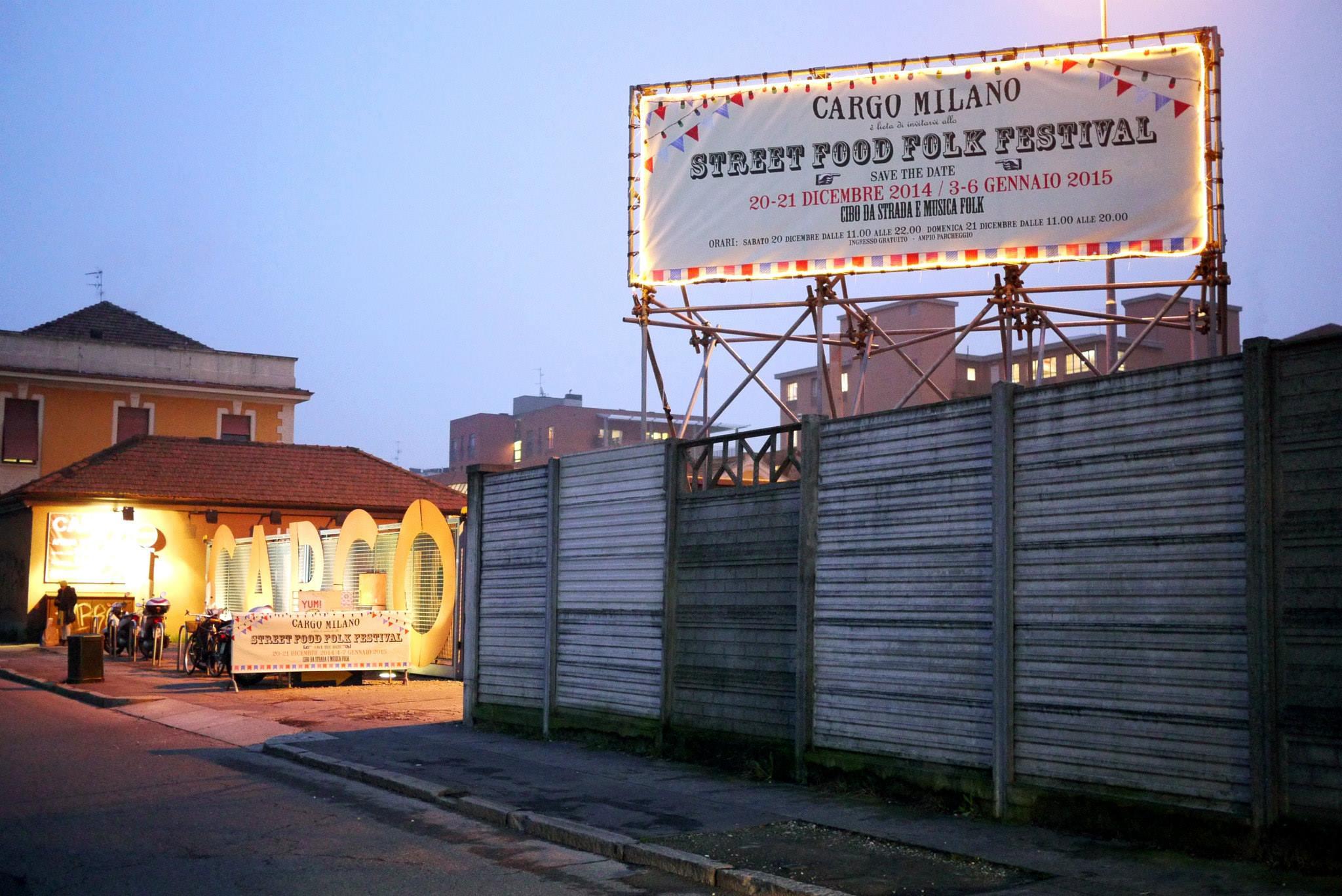 Dal 3 gennaio torna lo street food folk festival for Cargo via meucci