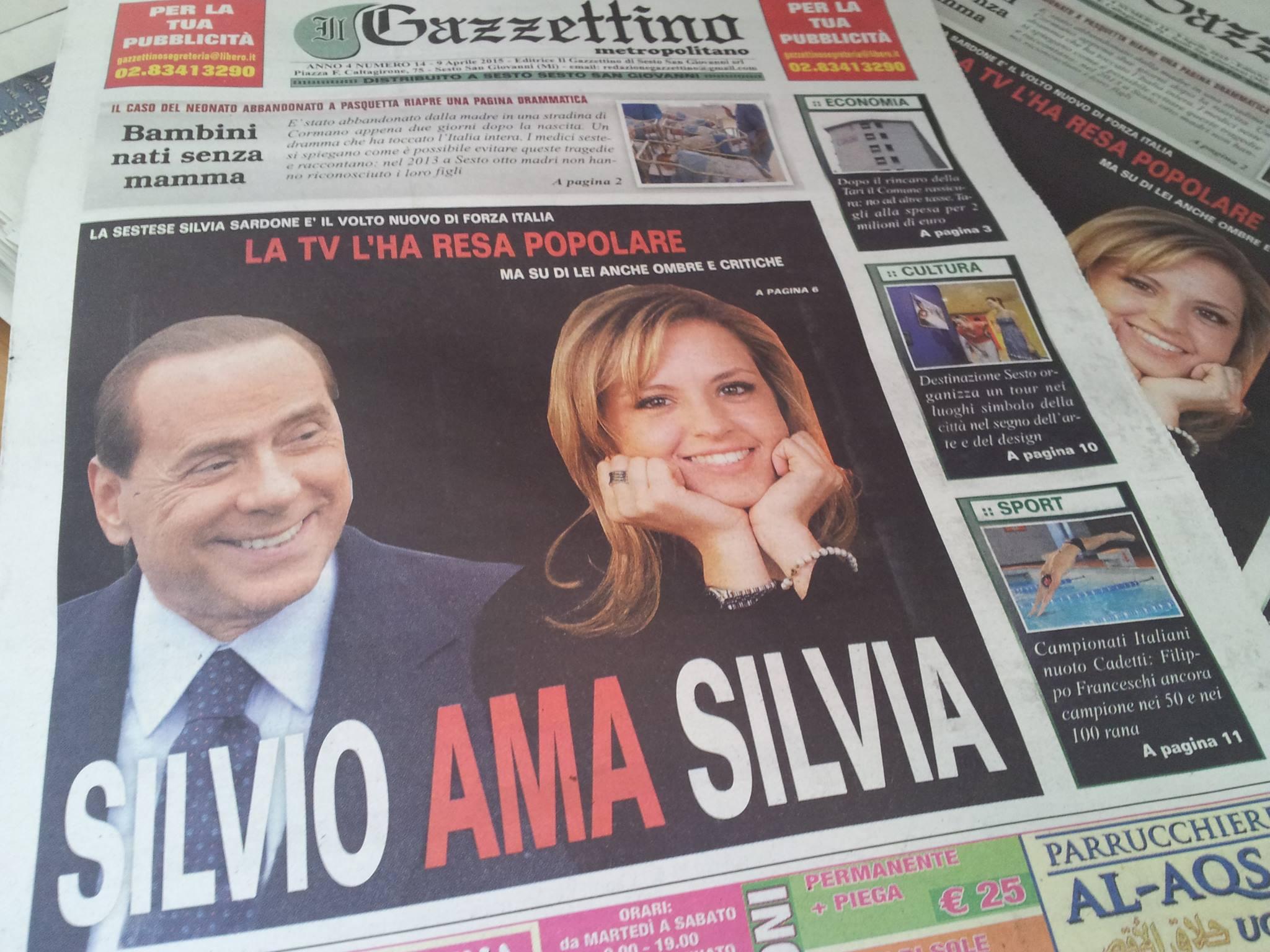 Silvia sardone arriva da sesto la rottamatrice di forza for Onorevoli di forza italia