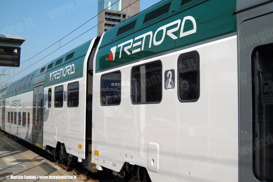 Da oggi nuovo treno dalla brianza diretto a expo di - Trenord porta garibaldi ...