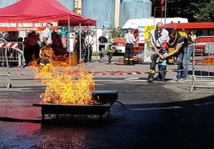 Pompieropoli, a Sesto San Giovanni si gioca a fare i vigili del fuoco