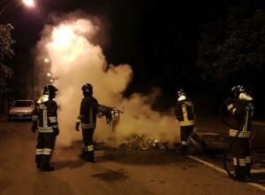 Sant'Eusebio a ferro e fuoco per protesta