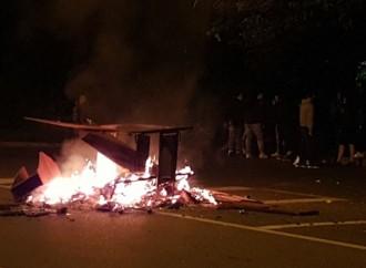 Notte di fuoco a Sant'Eusebio (video)