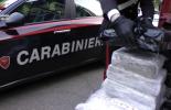 Maxi sequestro di droga a Cinisello. 200 chili hascisc nel sottofondo di un Tir (video)