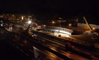 Cinisello, in Crocetta arriva la passerella sulla A4. L'autostrada chiude per una notte