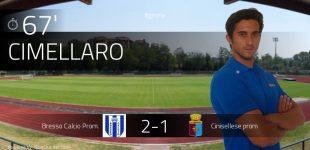 Calcio: Bresso di misura sulla Cinisellese, Paderno capolista in Prima Categoria