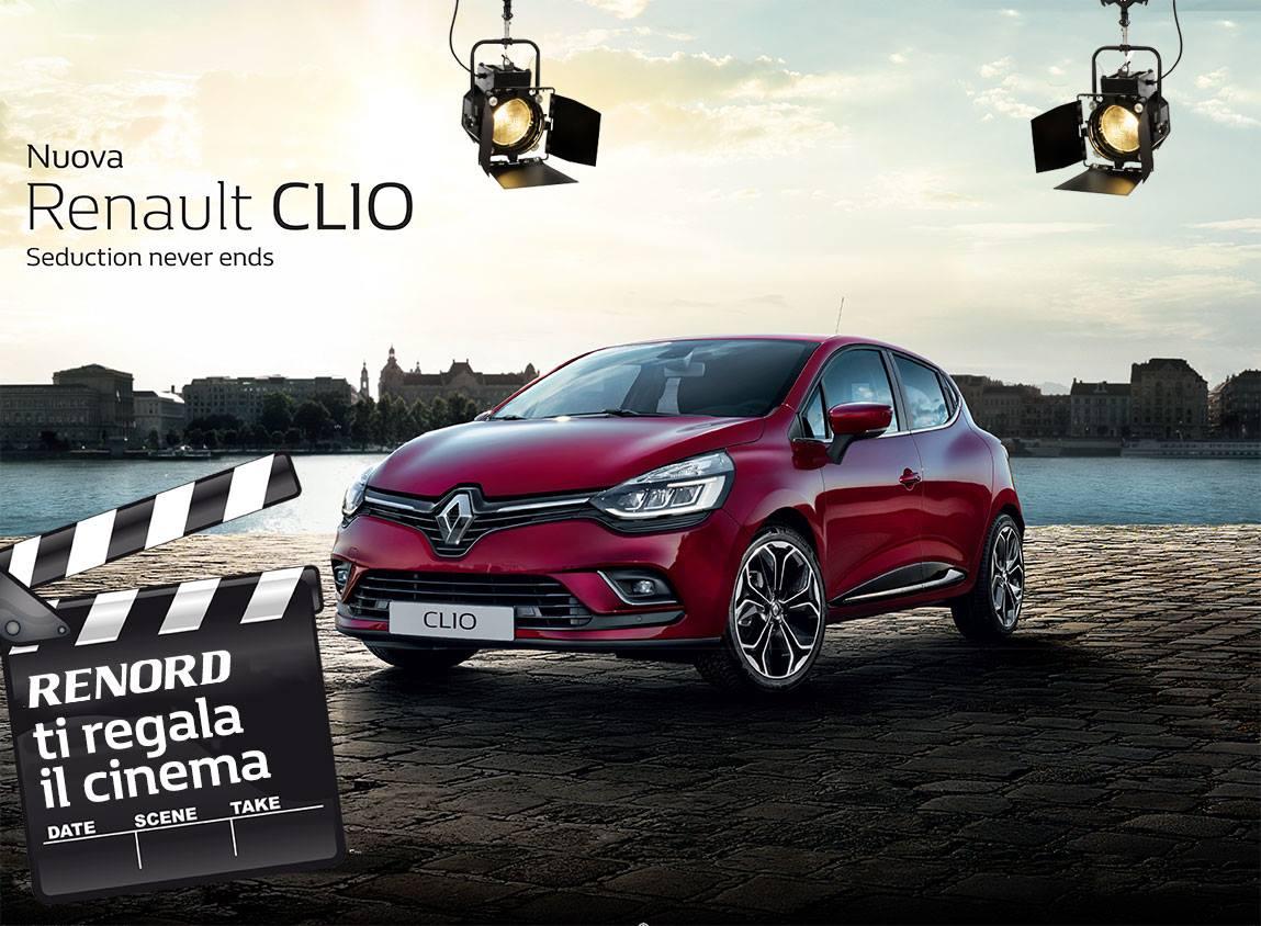 Renord ti regala il cinema test drive a sesto san giovanni for Renault renord