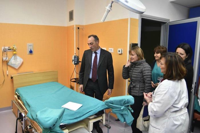 Parata di politici a sesto in ospedale inaugurate le sale for Ospedale sesto san giovanni