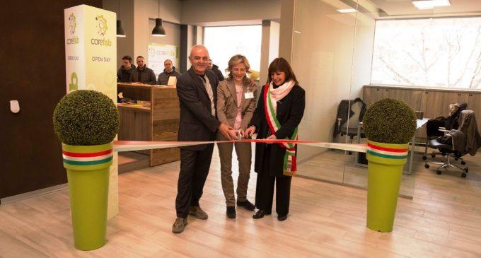 Taglio del nastro a Corefab: a Cormano nasce la casa delle start up