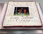 Dal Croissant d'Or la torta speciale per i 18 anni di Donnarumma