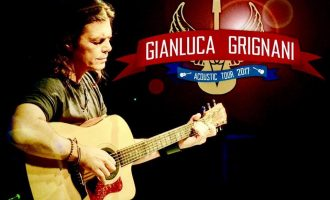 Gianluca Grignani in concerto al Teatro Nuovo