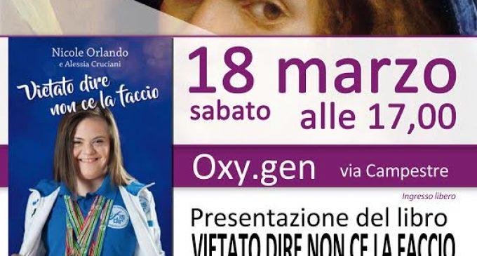 Nicole Orlando a Bresso al padiglione Oxy.gen