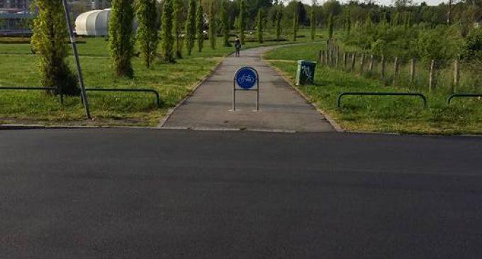 """Bresso, ecco la nuova pista ciclabile """"dei parchi"""""""