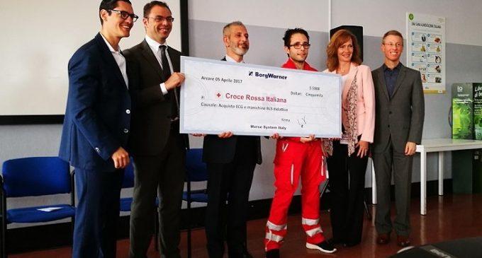 La Borgwarner di Arcore dona 4mila euro alla Croce Rossa di Sesto