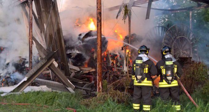 Cinisello, incendio nel Grugnotorto. Paura e rischio inquinamento (VIDEO)
