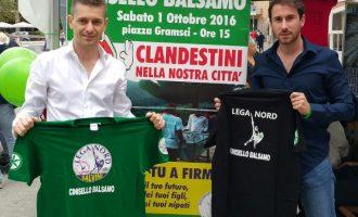 Nuovi arrivi migranti nel Nordmilano: 10 gazebo della Lega Nord a CInisello