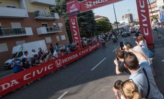 Il Giro d'Italia a Sesto: festa rosa in città (gallery)