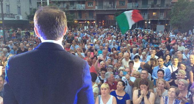 "Festa in piazza per Di Stefano: ""Ora ho una grande responsabilità"""