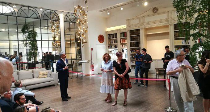 Cinisello, Geico inaugura la prima biblioteca aziendale del circuito Csbno