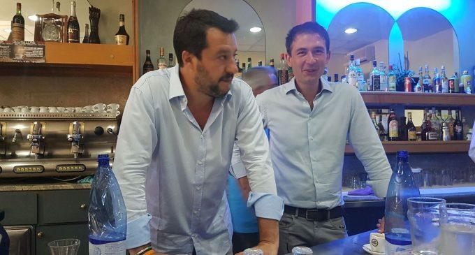 """Salvini con Di Stefano a Sesto: """"No alla moschea. La città ha una grande occasione"""""""