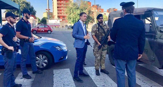 Militari alla stazione di Sesto, il saluto del sindaco