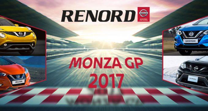 Anche Renord scalda i motori per il Monza Gp di Formula 1