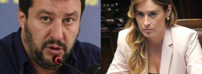 Matteo Salvini e Maria Elena Boschi ospiti a Paderno Dugnano