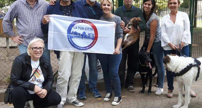 """""""Ci pensiamo noi"""": a Cinisello la civica La Tua Città sistema l'area cani di via Terenghi"""
