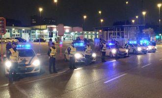 Sesto, gli agenti di polizia locale arrestano 4 ladri di pallet