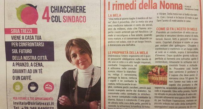 """Cinisello, la Trezzi fa campagna elettorale """"porta a porta"""""""