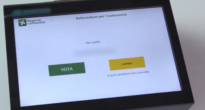 M5S: invito al voto a referendum in Veneto per superare quorum