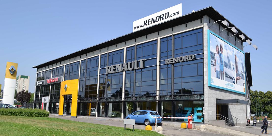 Sesto renord concessionaria dei record vendute 10mila auto for Renault renord