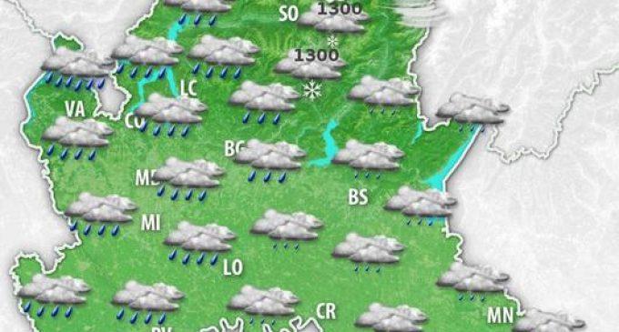 Freddo e neve arrivano in settimana