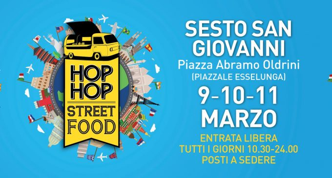 Sesto, nel weekend arriva il cibo di strada di Hop Hop Street Food