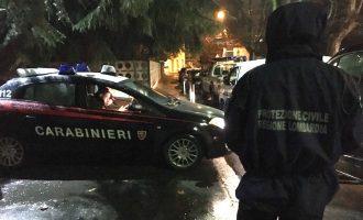 Cinisello, week end di grande lavoro per la protezione civile