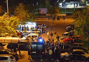 Raduno di auto modificate, blitz delle forze dell'ordine a Paderno