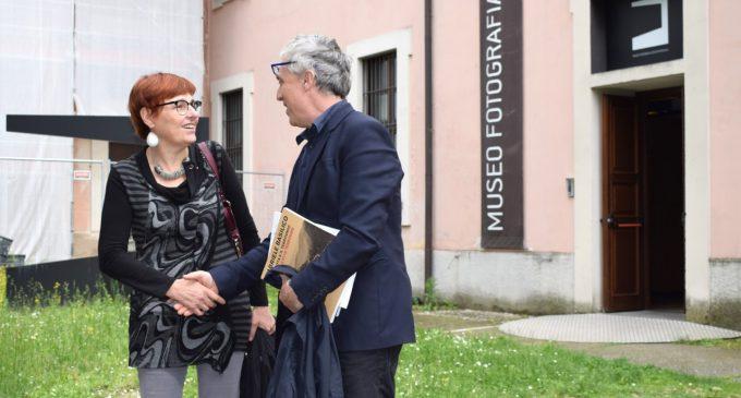"""Cinisello, Boeri visita il MuFoCo: """"Pronti per un nuovo percorso"""""""