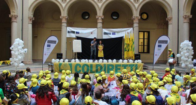 Paderno, gli allievi dell'istituto Allende premiati da Coldiretti