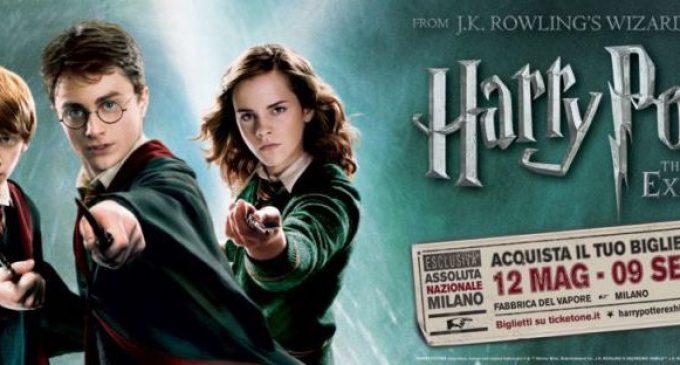 """Harry Potter, apre oggi """"The Exhibition"""". La mostra del maghetto è a Milano"""