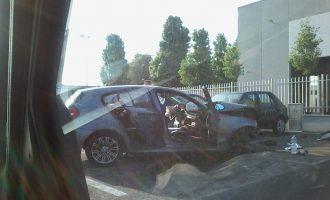 Cinisello, grave incidente in via Fogazzaro