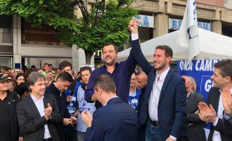 Cinisello, torna Salvini per lanciare lo sprint di Ghilardi