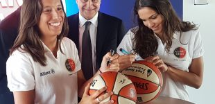 L'Allianz Geas Basket pronta all'esordio in A1