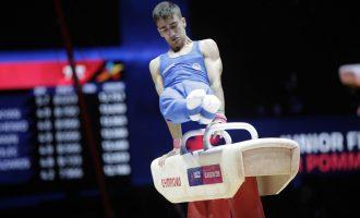 Ginnastica: Edoardo De Rosa (Ares Cinisello) è campione europeo al cavallo