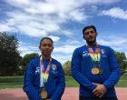 Roberta Roma e Alfonso Palumbo, due campioni del mondo a Sesto
