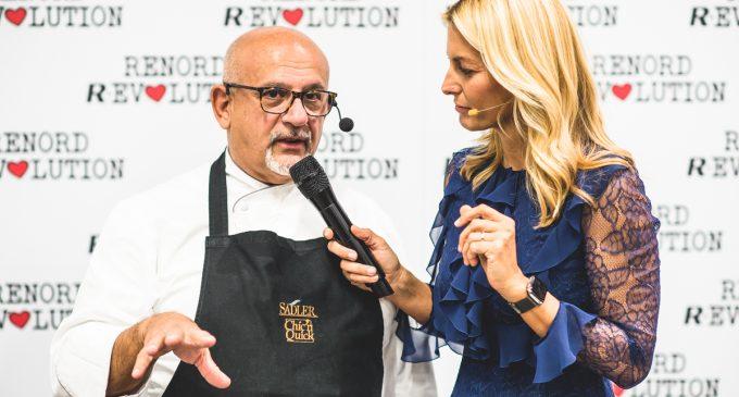 Chef stellati e acrobati all'inaugurazione della nuova sede Renord